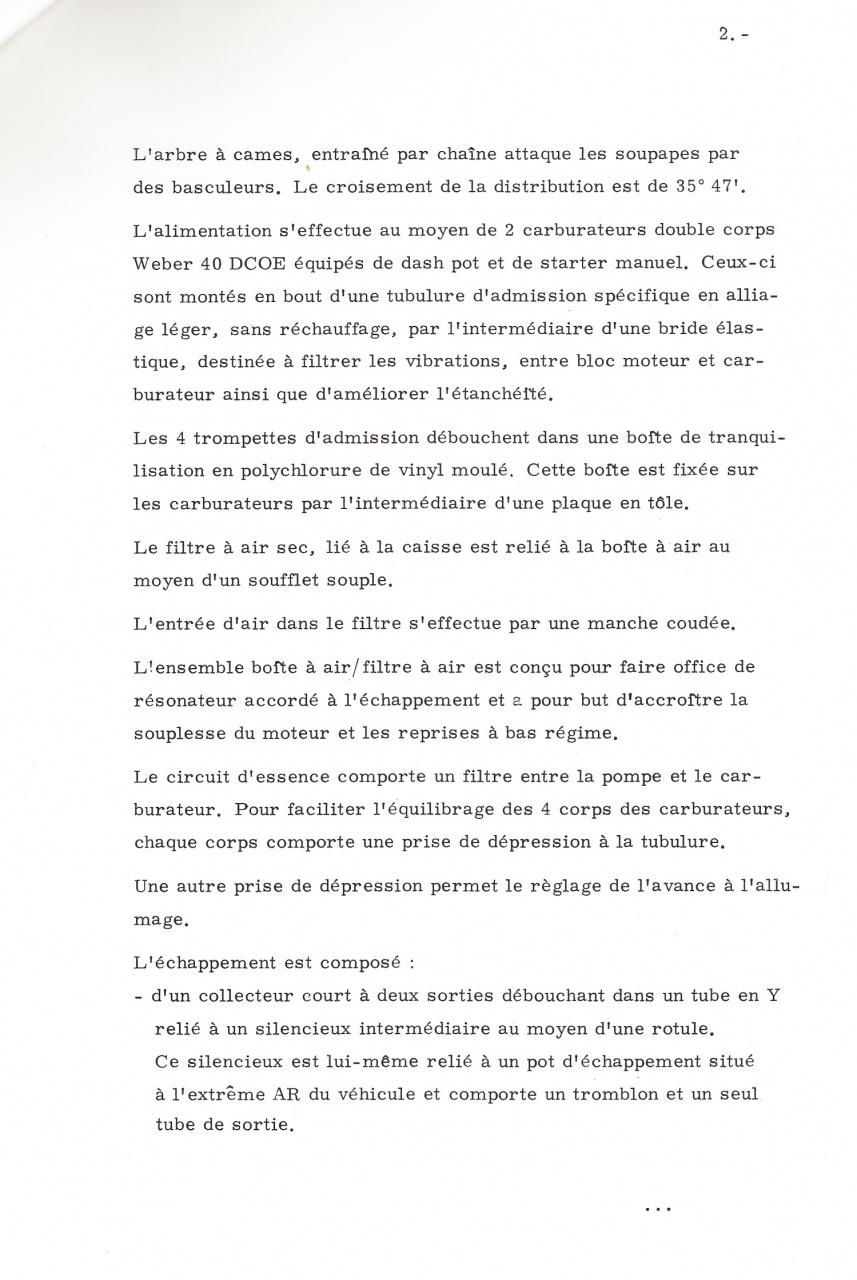 Dossier de presse Talbot Samba Rallye (septembre 1982) 124577a0005