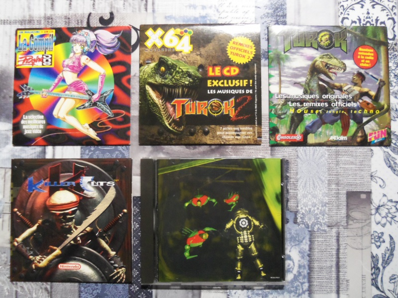 CD audio Killer Instinct, Player One, Turok, Psygnosis soundtrack vol  1248981004579