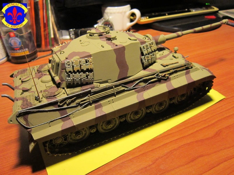 Sd.Kfz.182 King Tiger à tourelle Henschel de Dragon au 1/35e par pascal 94 124914IMG1253L