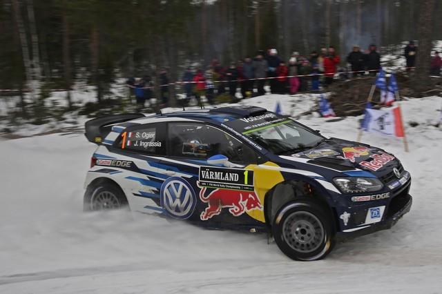 Rallye de Suède 2016 : Volkswagen en tête au terme de la première journée  126226hd01vw201602123965