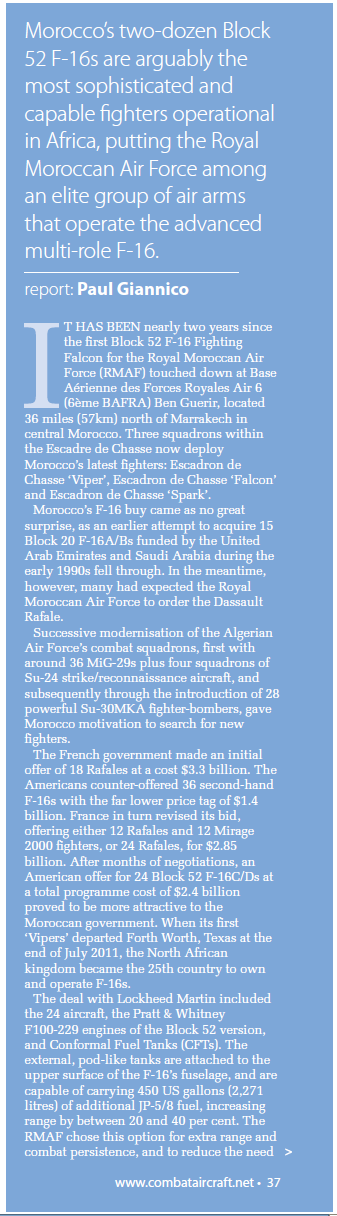 Moroccan F-16 Atlas Falcon / RMAF F16 block 52+ - Page 2 12774320130504114720