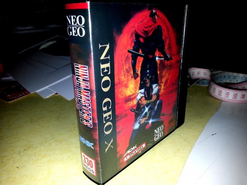 Insert neo geo x pour boites neogeo pocket 12797720130130024336