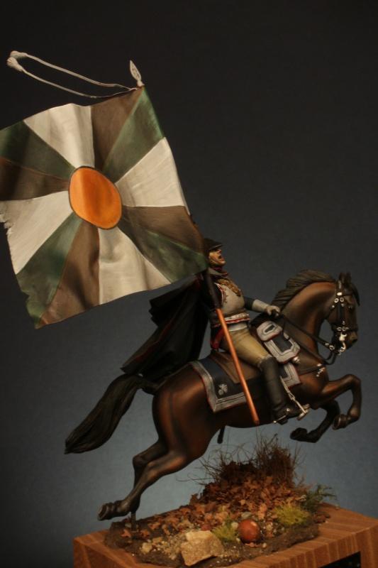 Jacquemin et le drapeau de Arkhangelogorod - Austerlitz 1805 128743FrancoisJacqueminAusterlitz180552