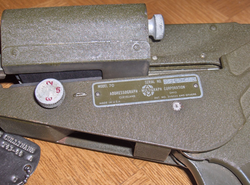 Les Dog Tag U.S. WWII 129108003
