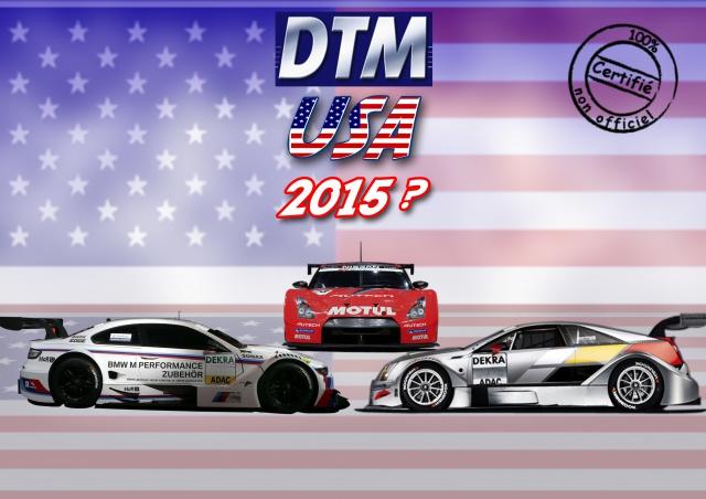 DTM (Deutsche Tourenwagen Masters) 130309DTMusa2015