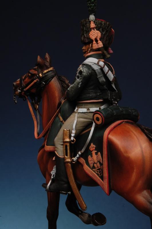 Chasseur a cheval GI - le travail de le vacance 131620coco0102