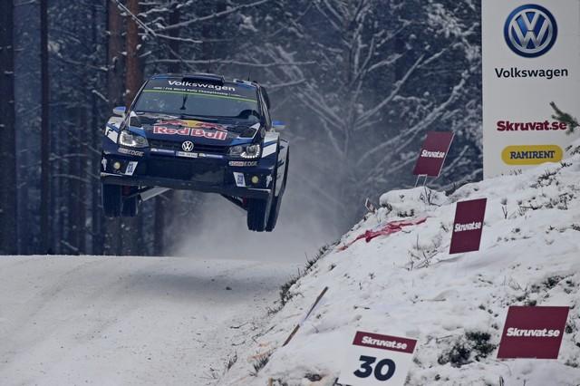 Troisième victoire en Suède pour Sébastien Ogier / Julien Ingrassia  132296hd022016wrc02bk11593