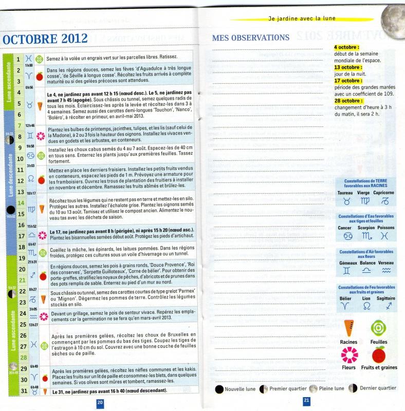 Calendrier Lunaire  132464Octobre2012