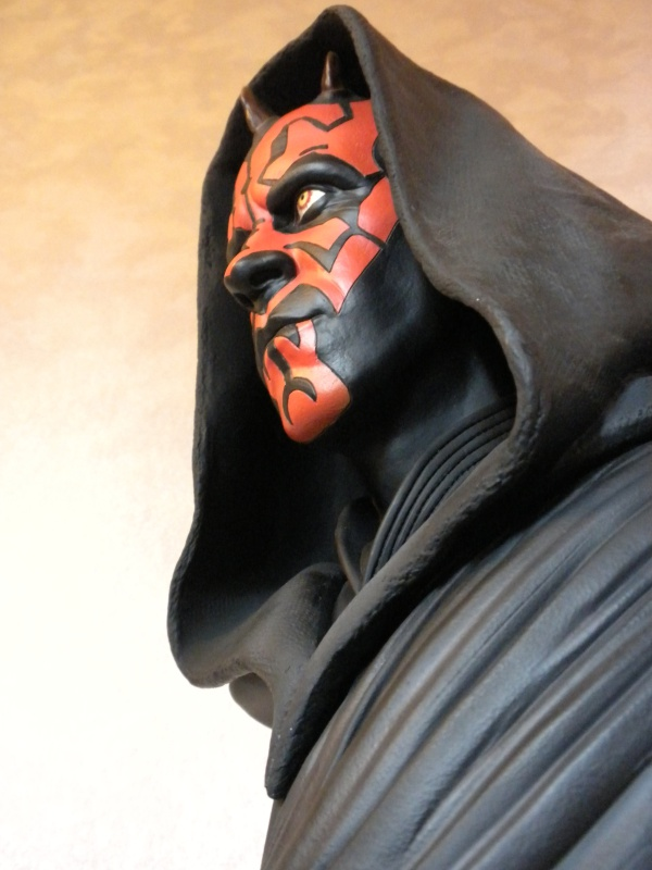 Sideshow - Darth Maul - Legendary Scale Bust 134043DSCN5240
