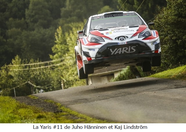 La Toyota Yaris WRC montre encore ses progrès sur asphalte en Espagne ; Juho Hänninen au pied du podium 135435previewphoto
