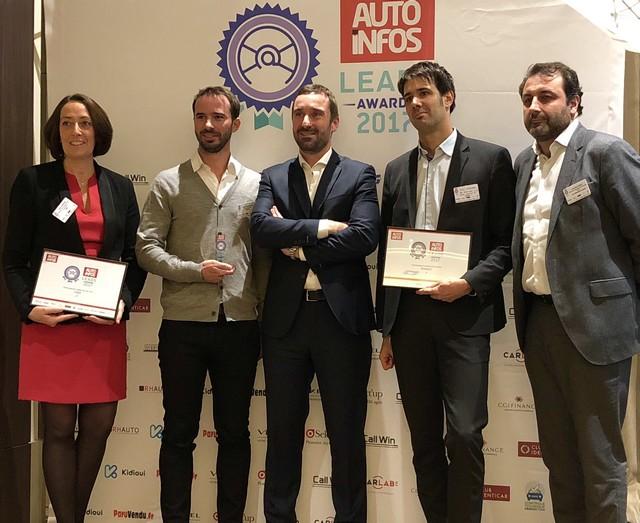 PEUGEOT reçoit le prix du Lead de l'année 2017 136165IMGE2462