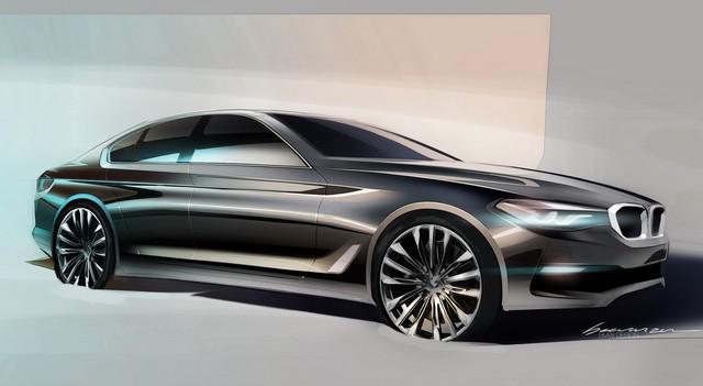 La nouvelle BMW Série 5 Berline. Plus légère, plus dynamique, plus sobre et entièrement interconnectée 136546P90238847highResthenewbmw5series