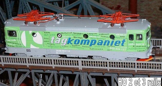 Machines RC des chemins de fer suédois 136633Marklin26727RC2TagkompanietcoffretBahnbilderGuntherClauz