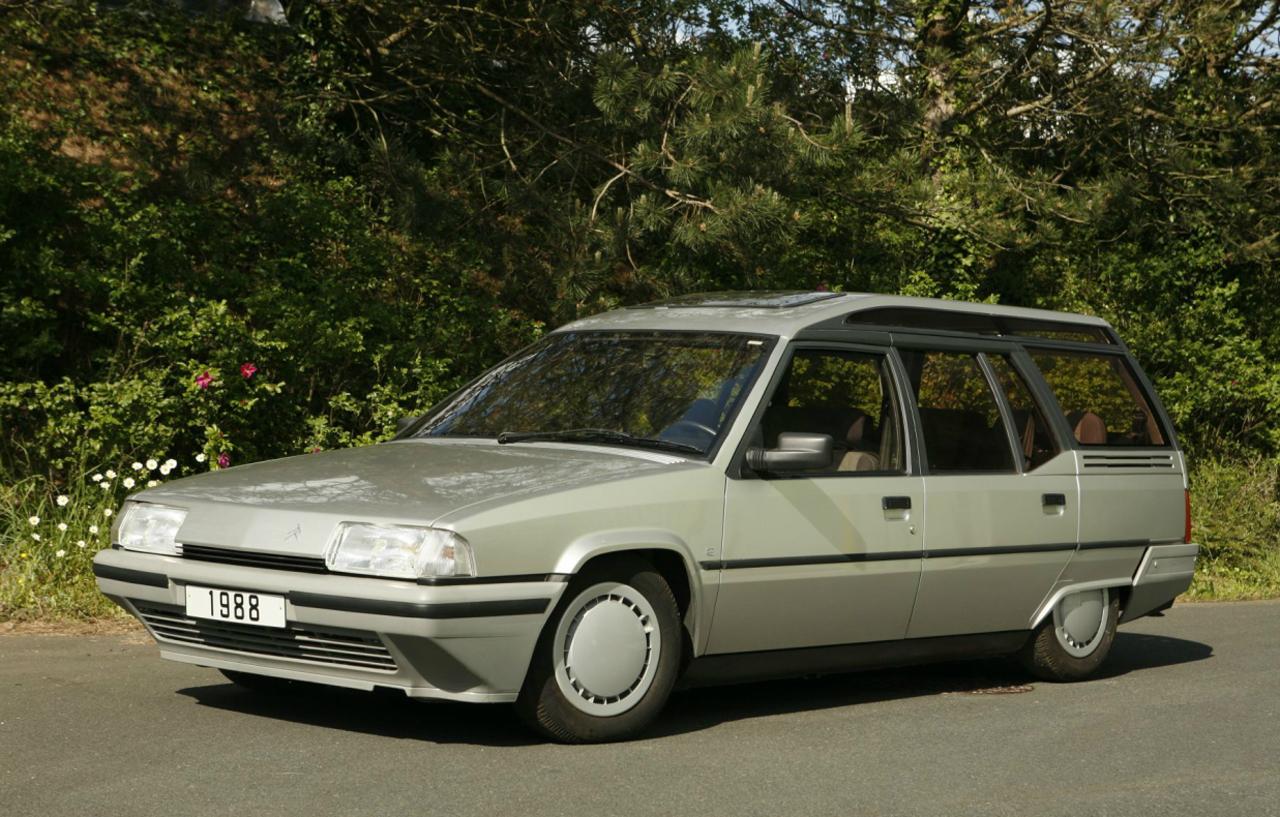 la Citroën BX break 'surélevé' 19 TRD de 1988 par le carrossier Heuliez : prototype 137984citroenbxheuliez0001
