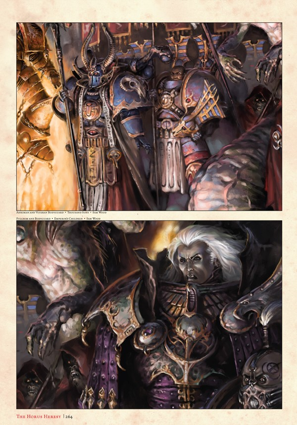 The Horus Heresy : Collected Visions (Artbook) 138482collectedvisions1