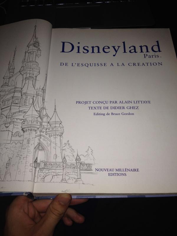 Disneyland Paris : de l'Esquisse à la Création [Livre] 139742IMG4986