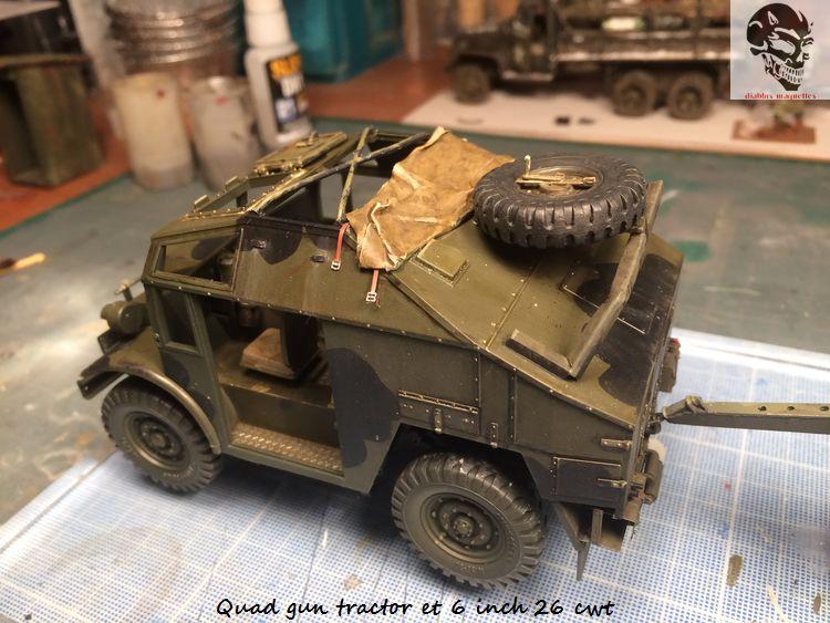 Quad gun tractor et 6 inch 26 CWT en Normandie 1/35 139919IMG4813