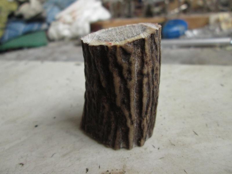 Création blaireau bois de cerf 144235IMG5293