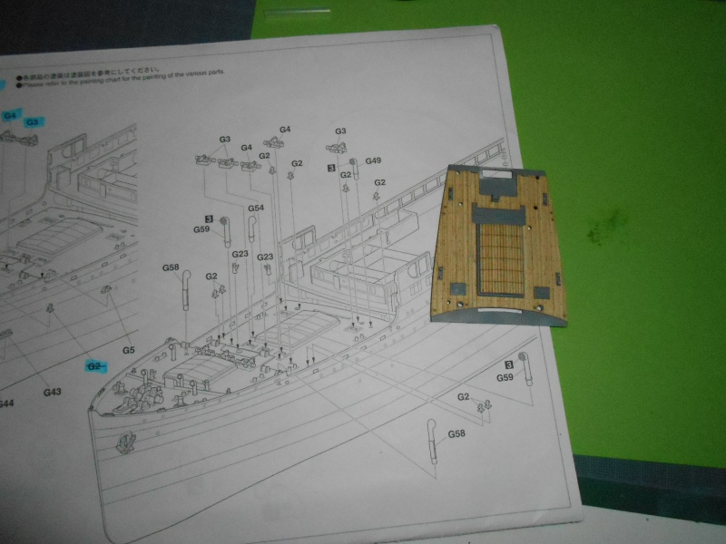 Hikawa Maru hopital 1/350 PE/pont en bois et babioles  - Page 3 144708DSCN5667