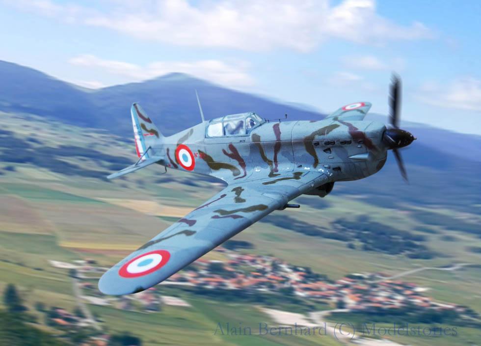 "[AZUR] - Morane 406 ""camo test"" en 1940. 145801Morane40632"
