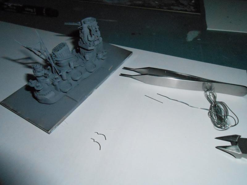 Yamato 1/700 fuji, PE,Pont en bois et babioles - Page 3 147541DSCN5404