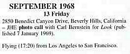 Oakland (Oakland Coliseum) : 13 septembre 1968  14762119680913BenedictCanyon