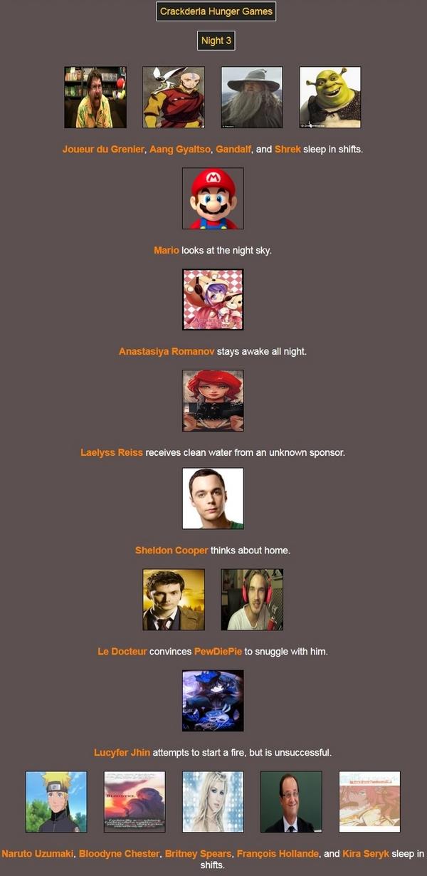 [Crackderla N°1] Hunger Games - Page 6 14825444Night3