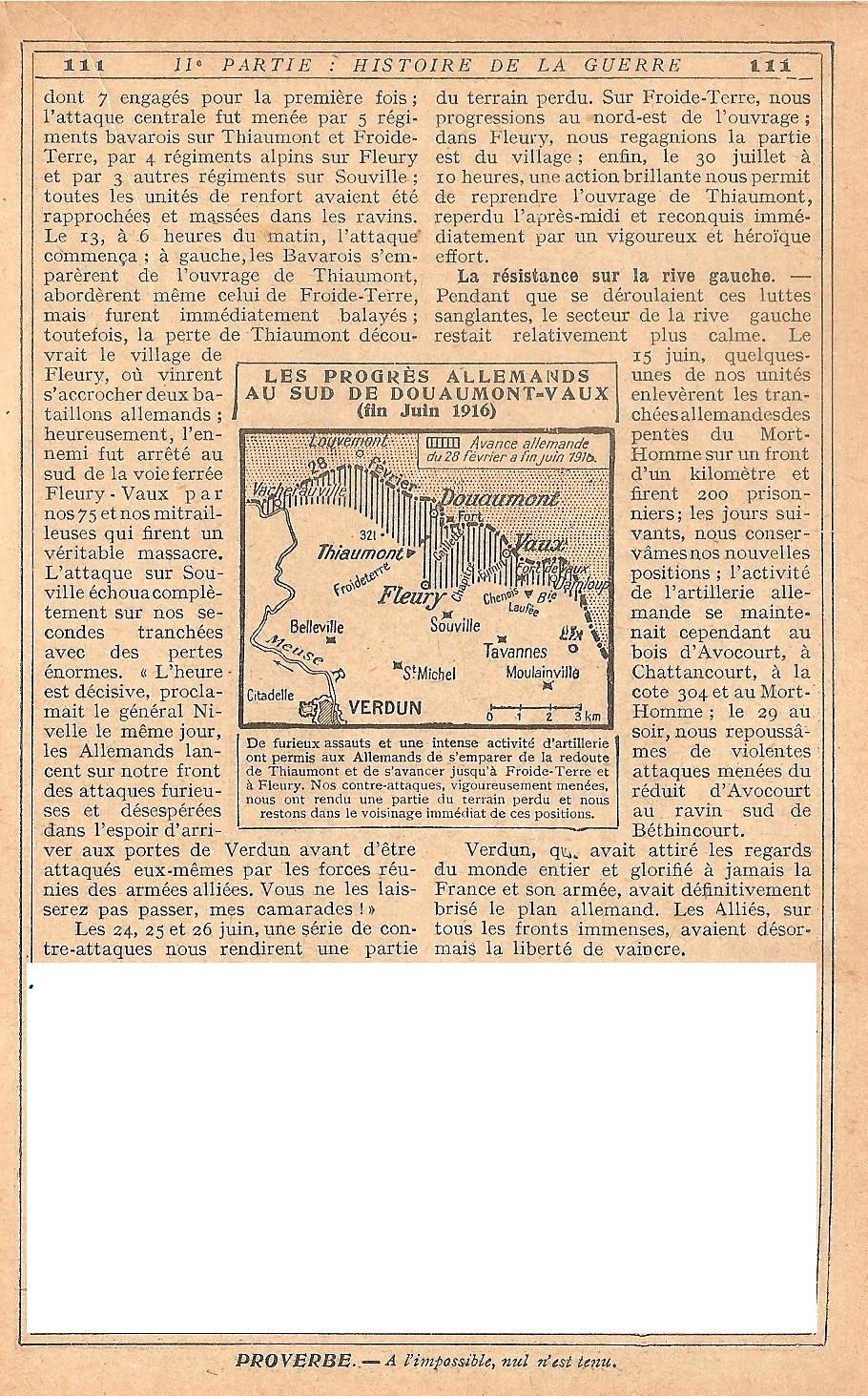 [ Histoires et histoire ] LE CENTENAIRE DE LA GRANDE GUERRE - Page 5 148733Verdun14