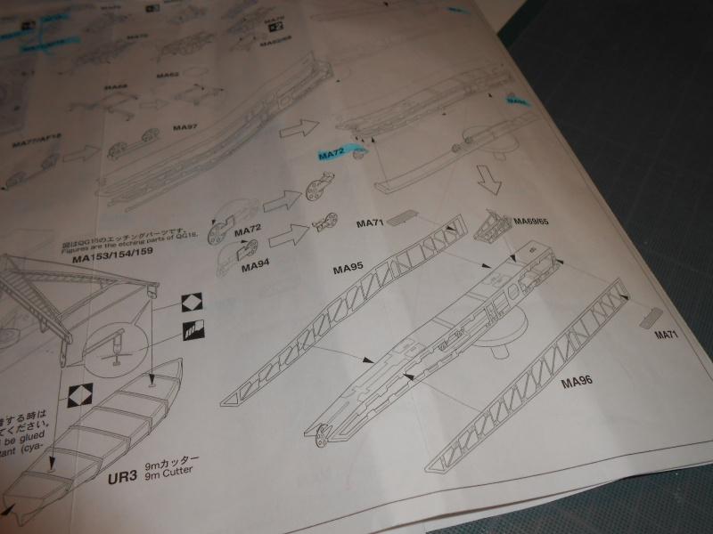 NAGATO Hasegawa 1/350- PE- Ponts en bois - Page 4 149087DSCN6838