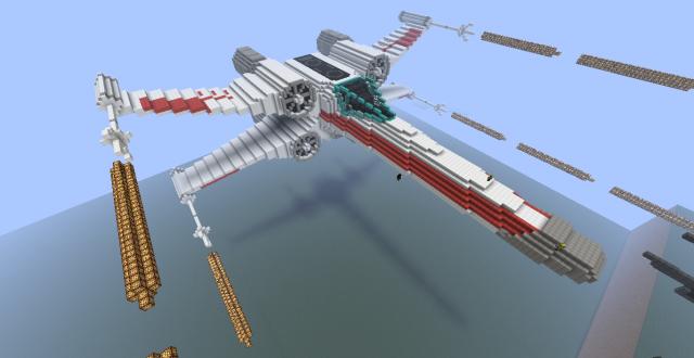 Réalisation des vaisseaux sur Minecraft 14968320120226212733