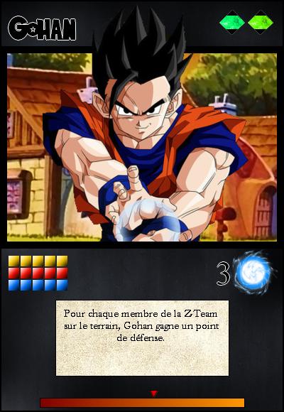 Jeu de cartes RPGDBZ 150115CarteGohanN9