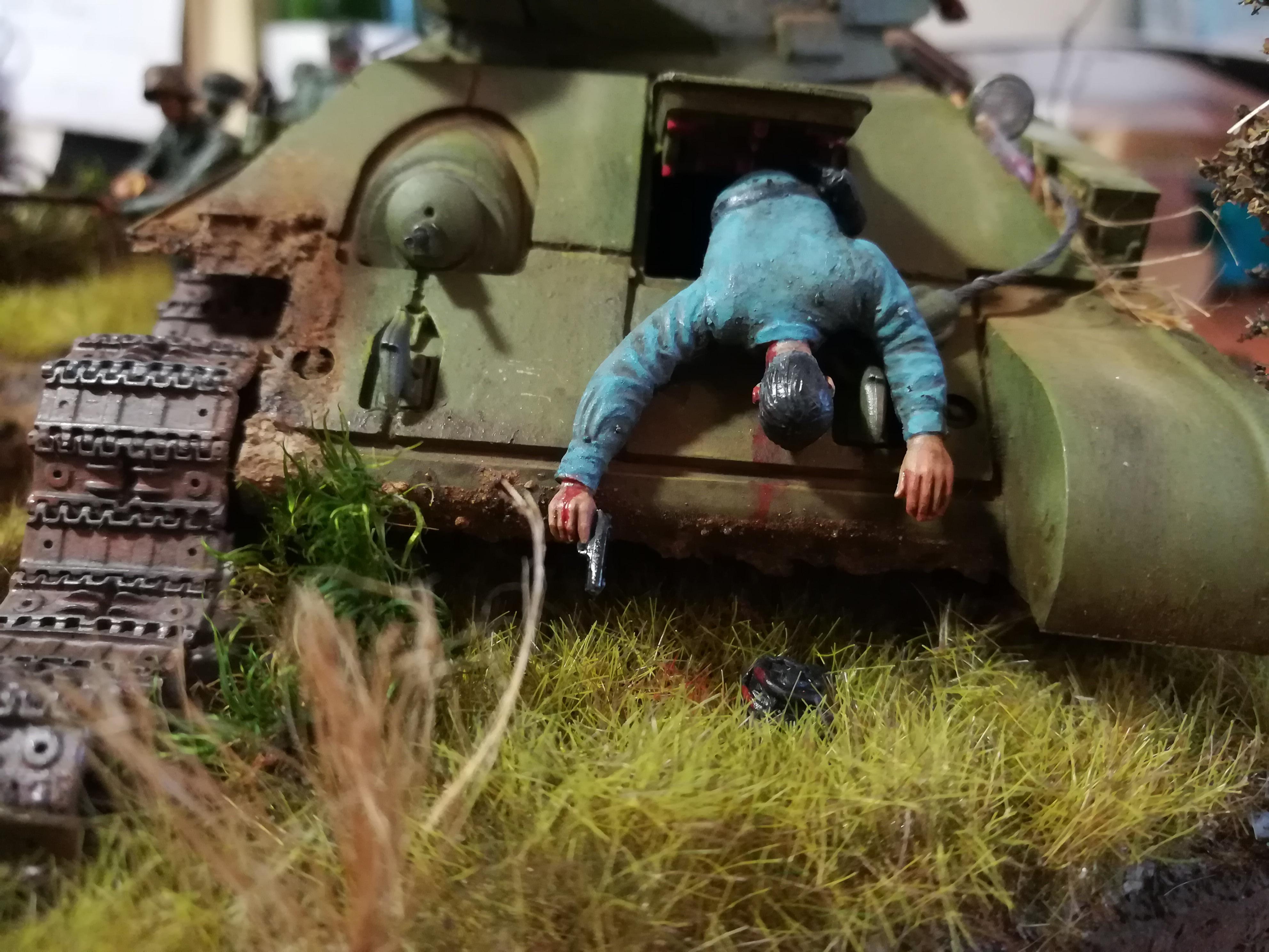 Front de l'Est, 1942 - T34 et Wehrmacht - Zvezda - 1/35 - Page 2 151482IMG20171219141052