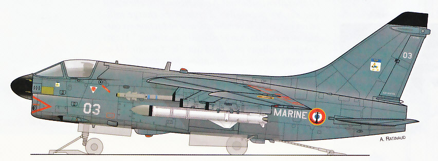 LTV A-7 Corsair II [NOUVELLE VERSION] 152537LTVA7CorsairIIFrance