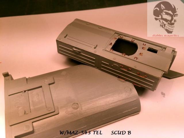 W/MAZ -543 TEL  SCUDB  maquette dragon 1/35 152632IMG4298