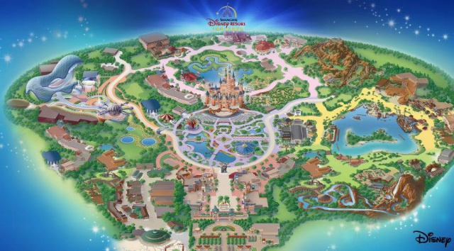 Shanghai Disneyland (2016) - Le Parc en général - Page 21 152914sd1