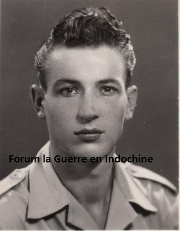 Sergent Yves BAILLIF 1er BCCP MPLF 12/10/1951 à Xon Sui 153983SergentBAILLIFCopie