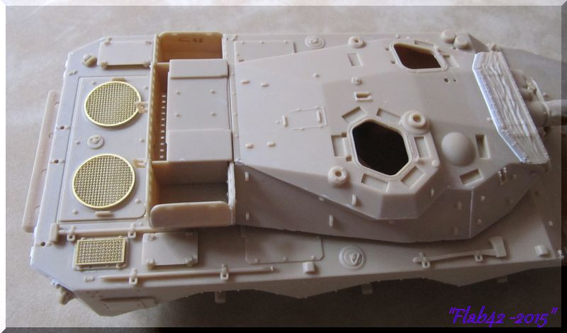 AMX 10 RCR - Tiger Model - 1/35ème - Page 2 154228tourelle2