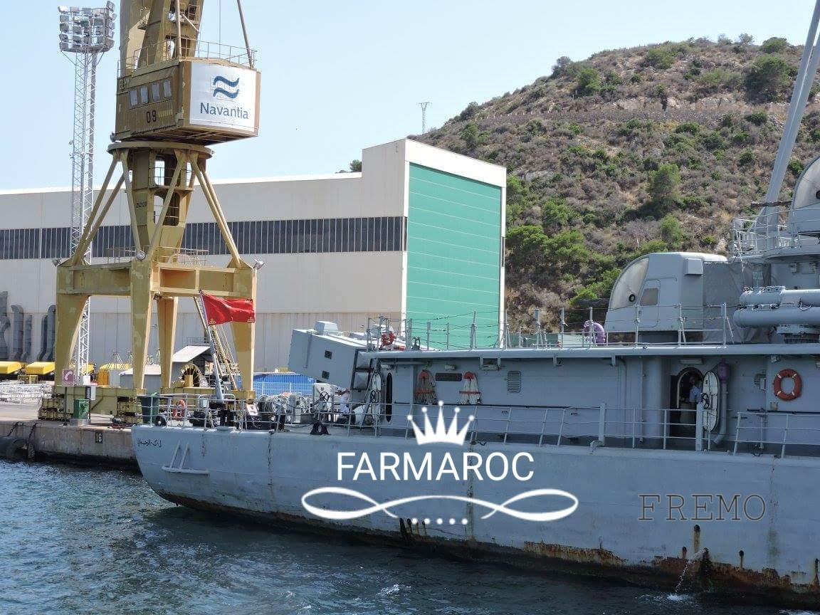 Royal Moroccan Navy Descubierta Frigate / Patrouilleur Océanique Lt Cl Errahmani - Bâtiment École - Page 3 15493420180104105408