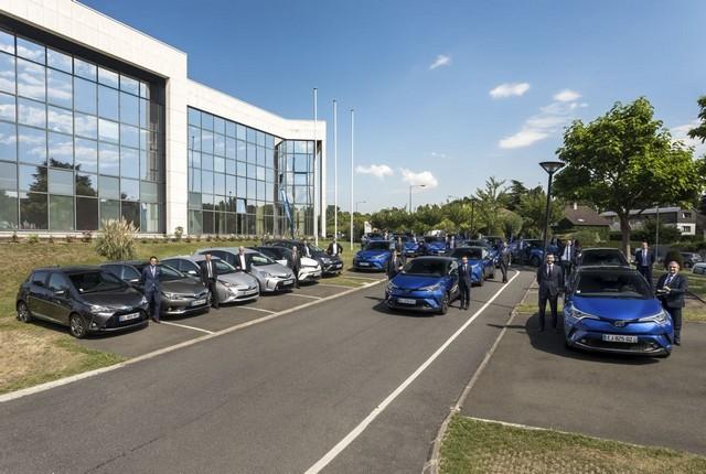 Toyota France équipe 100% de sa flotte de véhicules de société en hybride 1571910052