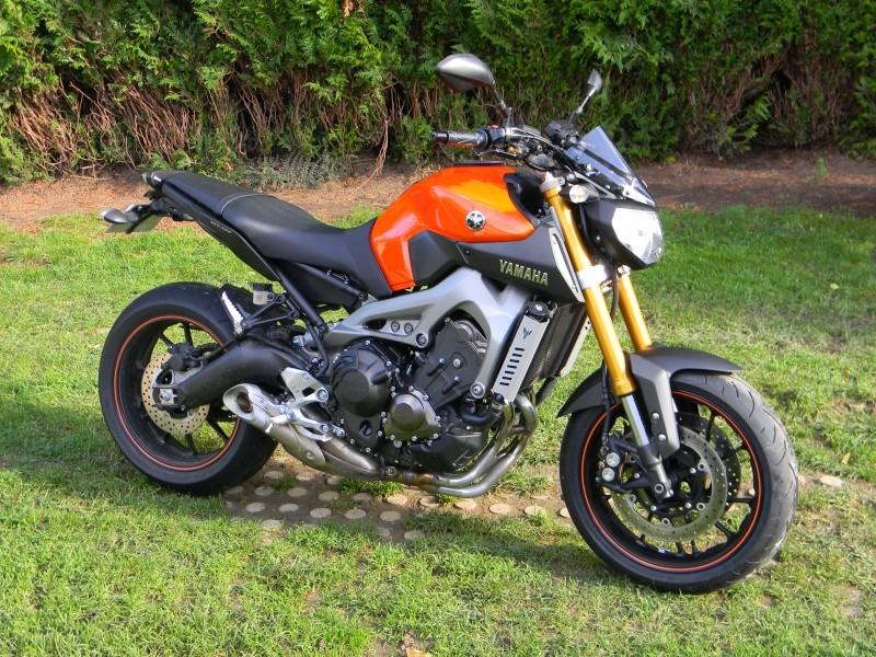 Photos de toutes les Yamaha MT-09 du forum ! :) 157446dscn1710