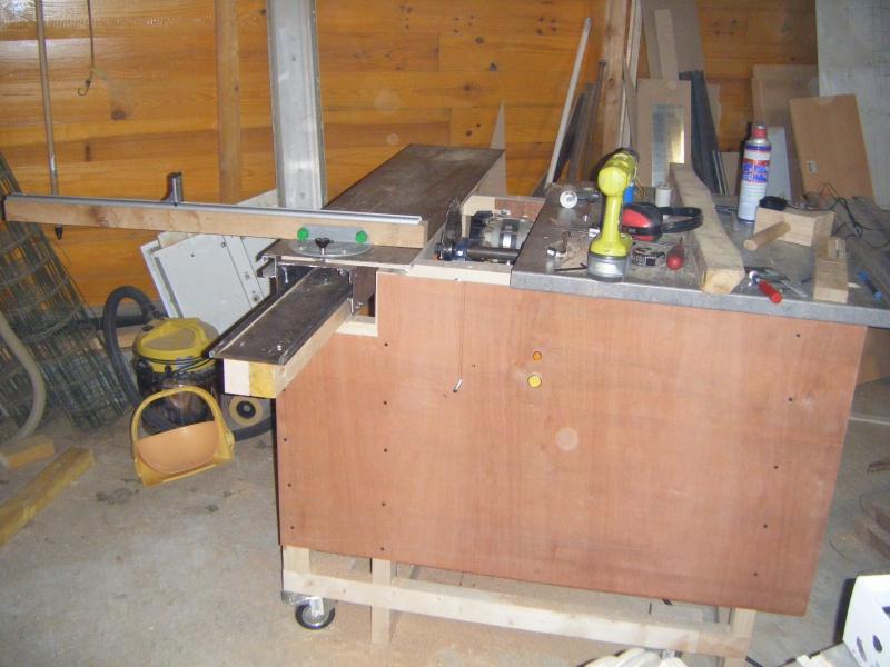 Fabrication d'une scie sur table - Page 2 158030DSCF8702