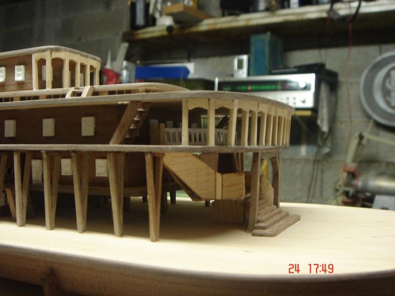 Bateau vapeur Robert E. Lee 1866 (Constructo 1/48°°) de Henri 158788DSC06801