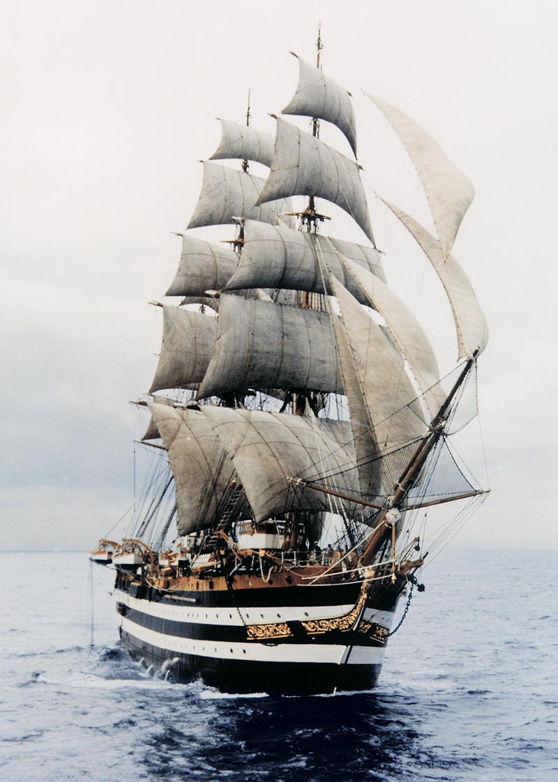 3 كورفيتات للجزائر و اخرى قادمة مع نقل للتكنولوجيا من بريطانيا  - صفحة 4 158944AmerigoVespucci