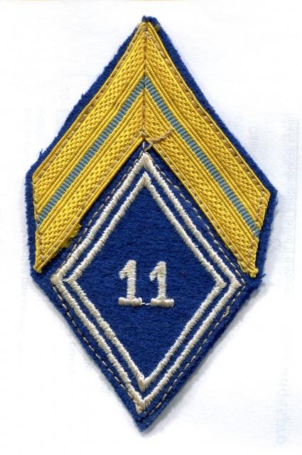 Deux soutaches à l'insigne régimentaire du 1er RCP 159089TISSU4001