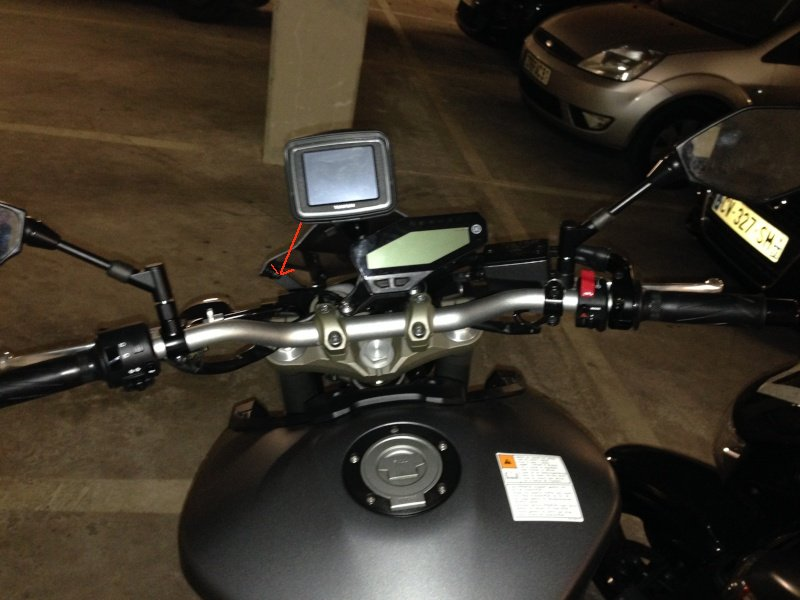 Support GPS Tomtom Rider / Fixation au compteur 159340photo13