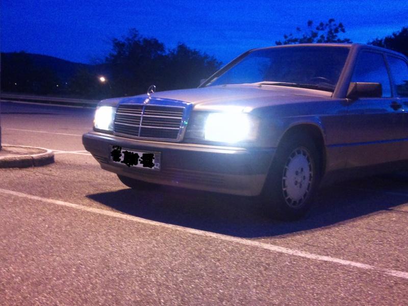 Mercedes 190 1.8 BVA, mon nouveau dailly - Page 9 159839DSC2309