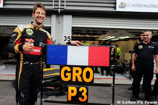 F1 GP de Belgique 2015 : Victoire Lewis Hamilton  1600462015RomainGrosjean1