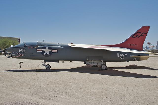 VOUGHT F-8 CRUSADER  160227VoughtDF8A