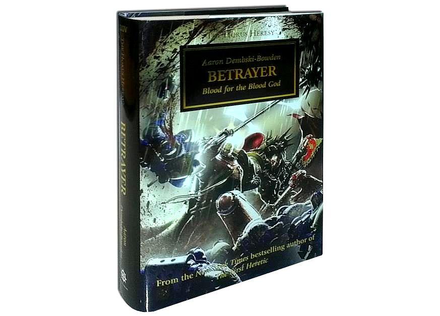 [Horus Heresy] Betrayer by Aaron Dembski-Bowden (premium hardback)   160440Betrayerbook