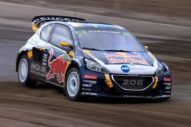 Les PEUGEOT 208 WRX enflamment la Suède - 2ème et 3ème en World RX et victoire en EURO RX 161055wrx201607010029